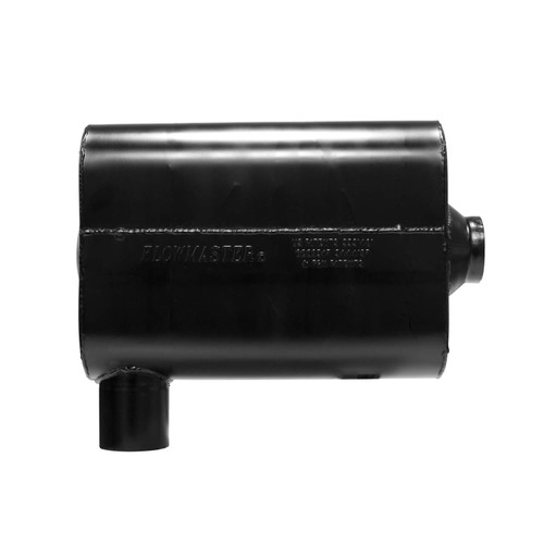 "8425461 Flowmaster Super 44 Series Muffler, 2.50"" IN(S) / OUT(C), Replacement for 2016-2019 Camaro, ea, 409S Stainless Steel"