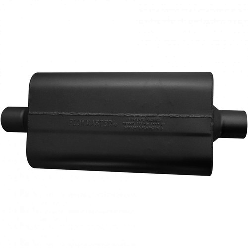942550 Flowmaster 50 Delta Flow Muffler - 2.50 Center In / 2.50 Center Out - Moderate Sound