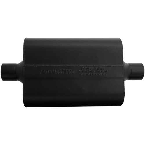 942445 Flowmaster Super 44 Muffler - 2.25 Center In / 2.25 Center Out - Aggressive Sound