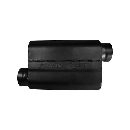 8435439 Flowmaster 40 Series Race Muffler 409SS - 3.50 Offset In / 3.50 Offset Out -Aggressive Sound