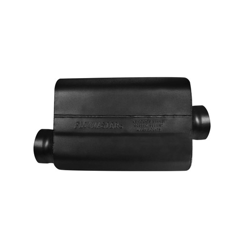 8435419 Flowmaster 40 Series Race Muffler 409SS - 3.50 Offset In / 3.50 Center Out -Aggressive Sound