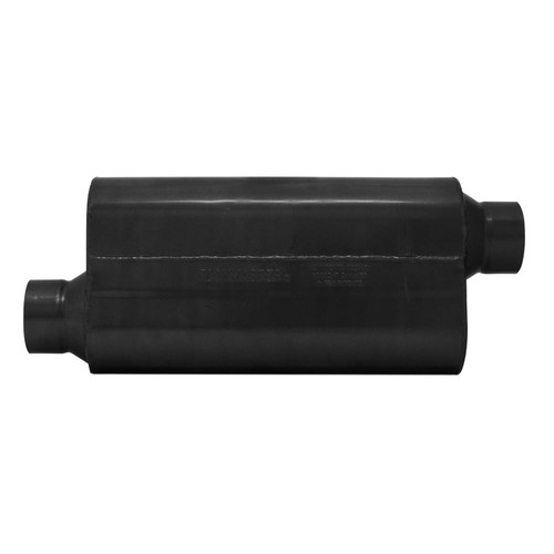 853558 Flowmaster 50 H.D. Muffler - 3.5 in. Offset In/3.50 in. Offset Out - Moderate Sound
