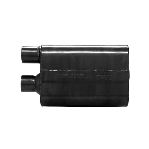 842580 Flowmaster 80 Series Crossflow Muffler 409S -2.50 In / Out Same Side Out-Moderate/Aggressive Sound
