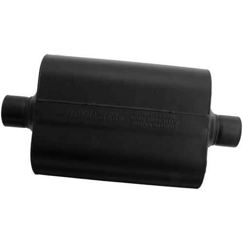952545 Flowmaster Super 40 Muffler - 2.50 Center In / 2.50 Center Out - Aggressive Sound