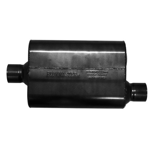 842547 Flowmaster Super 44 Series Muffler 409S - 2.50 in. Center In/2.50 in. Offset Out -Aggressive Sound