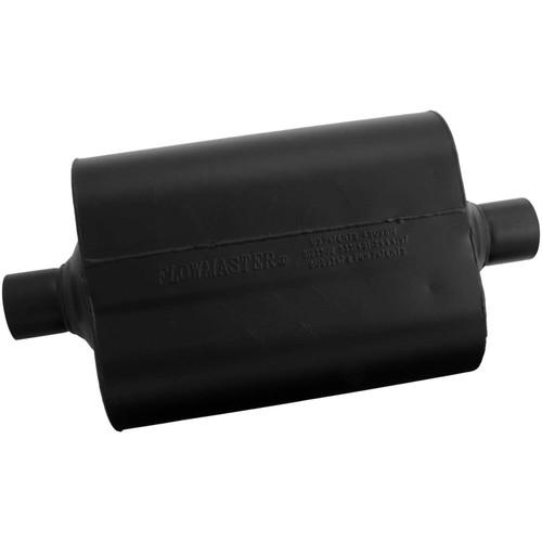 952445 Flowmaster Super 40 Muffler - 2.25 Center In / 2.25 Center Out - Aggressive Sound