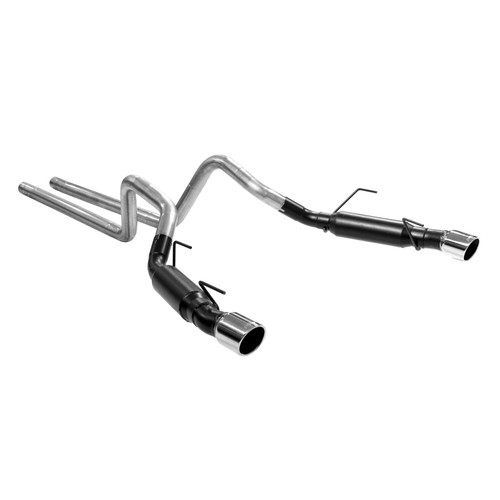 817515 Flowmaster Exhaust System fits 2005-2010 Ford Mustang GT with 4.6L or GT500 with 5.4L Engine - Aggressive Sound