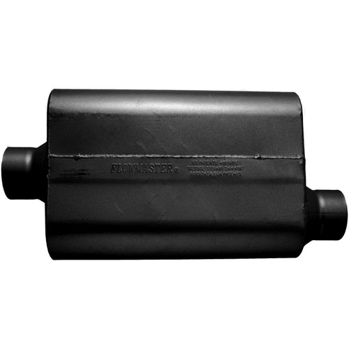 53531-12 Flowmaster 30 Series Race Muffler - 3.50 Offset In / 3.50 Center Out - Aggressive Sound