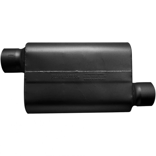 54033-12 Flowmaster 30 Series Race Muffler - 4.00 Offset In / 4.00 Offset Out - Aggressive Sound