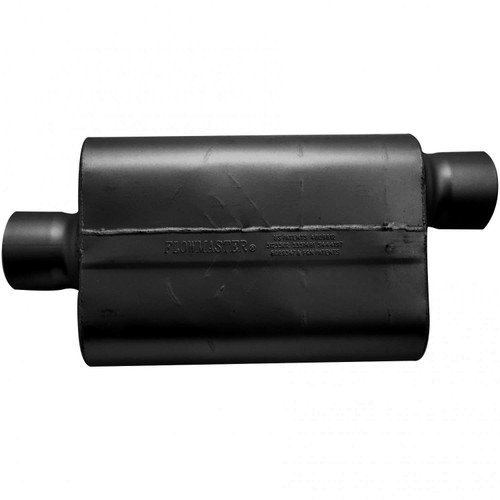 54031-12 Flowmaster 30 Series Race Muffler - 4.00 Offset In / 4.00 Center Out - Aggressive Sound