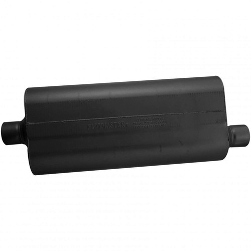 52572 Flowmaster 70 Series Muffler - 2.50 Center In / 2.50 Offset Out - Mild Sound
