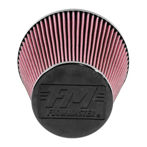 615011 Flowmaster Air Intake  fits Universal Fit Pre-oiled Delta Force Air Filter with a 7.50-inch length x 6.00-inch opening