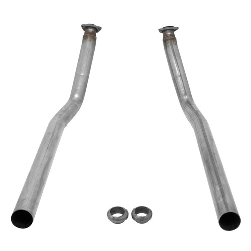 81072 Flowmaster Manifold Downpipe Kit for 1967-1972 GM C10 - 409SS 2.00 in. Inlet 2.50 in. Outlet