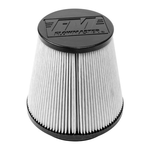 615011D Flowmaster Air Intake  fits Universal Fit Delta Force (Dry Synthetic) Air Filter with a 7.50-inch length x 6.00-inch opening