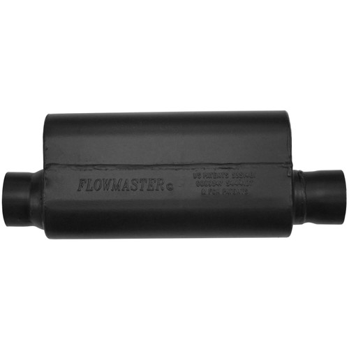 15150S Flowmaster Resonator - Universal - 2.50 in. Offset In / 2.50 in. Offset Out