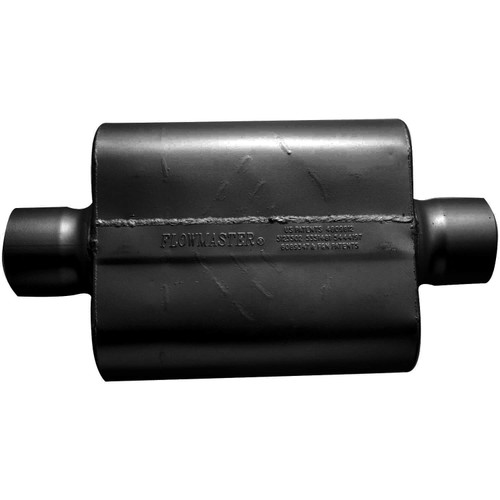 54030-12 Flowmaster 30 Series Race Muffler - 4.00 Center In / 4.00 Center Out - Aggressive Sound