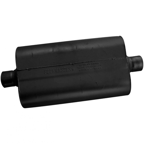 52555 Flowmaster Super 50 Muffler - 2.50 Center In / 2.50 Center Out - Mild Sound