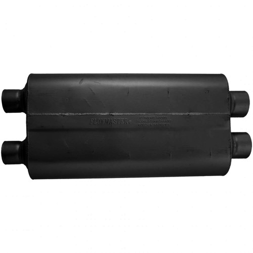 524704 Flowmaster 70 Series Muffler - 2.25 Dual In / 2.25 Dual Out - Mild Sound