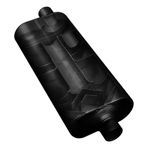 530702 Flowmaster 70 Series Muffler - 3.00 Center In / 2.50 Dual Out - Mild Sound