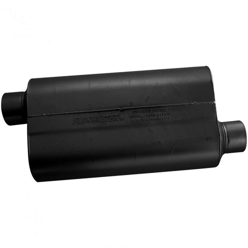 53058 Flowmaster Super 50 Muffler - 3.00 Offset In / 3.00 Offset Out - Mild Sound