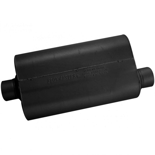 53057 Flowmaster Super 50 Muffler - 3.00 Center In / 3.00 Offset Out - Mild Sound