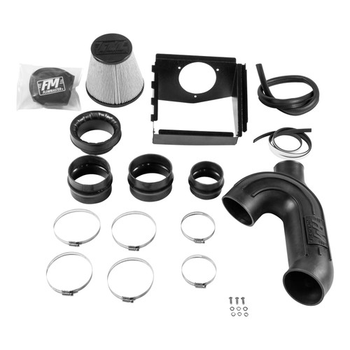 315136D Flowmaster Air Intake  fits Fits 2015-2016 Ford F-150 with 3.5L EcoBoost Engine and 2015-2017 F-150 with 2.7L Eco-Boost Engine. NOTE: This kit is not engineered to fit vehicles with a body lift.