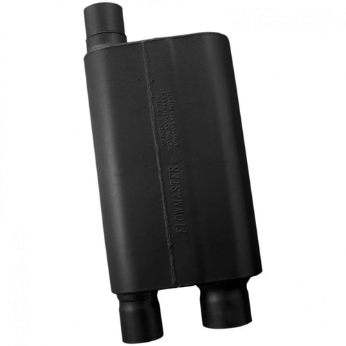 "43083 Flowmaster 80 Series Crossflow Muffler - 3.00"" (O) / 2.5"" OUT (D) - Aggressive Sound"