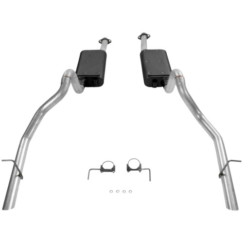 17114 Flowmaster Exhaust System fits Fits 1994 to 1997 Ford Mustang, GT and Cobra with a 4.6L or 5.0L engine.