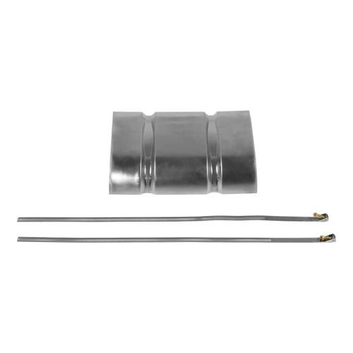 """51013 Flowmaster Heat Shield Kit For 40 Series Muffler - 13"""" Muffler Body Length"""