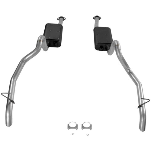 17106 Flowmaster Exhaust System fits Fits 1987 to 1993 Ford Mustang, GT with a 5.0L engine.