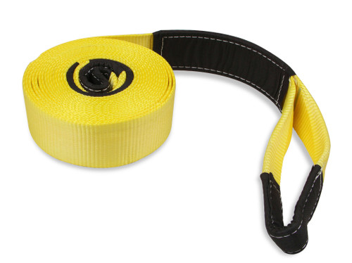 "1055AOR Anvil Anvil - Tree Saver / Tow Strap - 3"" x 30' - 12 Ton - Yellow"