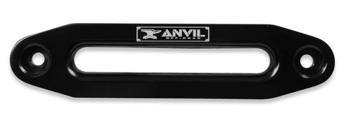 1070AOR Anvil Aluminum Fairlead - Fits Anvil 9,500 to 17,000 lbs. winches - Black w/ Anvil Logo.