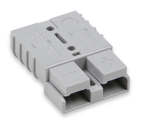 1041AOR Anvil Anvil - Battery Quick Disconnect 50 Amp - Gray - Terminals fit 6-Gauge Wire.  Set of 2 Connectors w/ 4 Terminals.