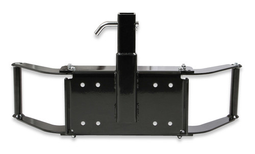 "1038AOR Anvil Anvil - Winch Mount w/ 2"" Receiver Hitch - Black w/ Hitch Pin.  Fits Up to 12,000 lbs. Winches."