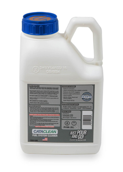 120018M Cataclean Fuel & Exhaust System Cleaner 3L Marine up to 30 Gallon