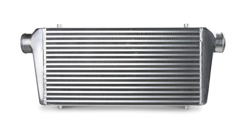 """FB608 Frostbite Intercooler Universal 23.5"""" X 12"""" X 3"""" core 2.5"""" In/Out polished"""