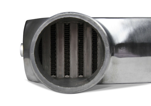 """FB601 Frostbite Intercooler Universal 11"""" X 12"""" X 3"""" core 3"""" In/Out polished"""