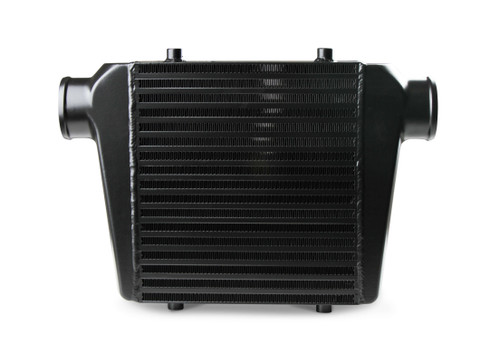 """FB601B Frostbite Intercooler Universal 11"""" X 12"""" X 3"""" core 3"""" In/Out black"""