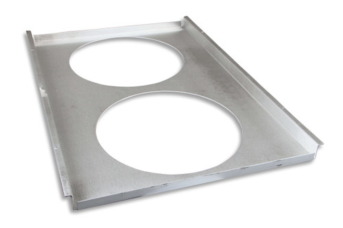 FB502E Frostbite Fan/Shroud  Economy 2x12 fans fits FB162, FB163, FB164, FB302
