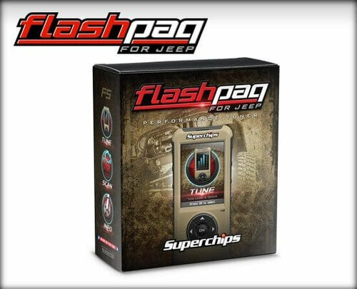 3876 Superchips F5 Flashpaq 2015-2018 Jeep Wrangler