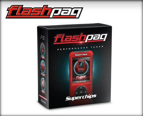 3845 Superchips F5 Flashpaq 1998-2014 Dodge/RAM Vehicles - Gas
