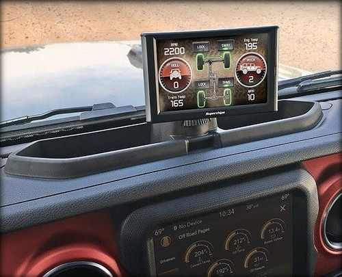 38302-JL Superchips Console Mount 2018-2019 Jeep Wrangler