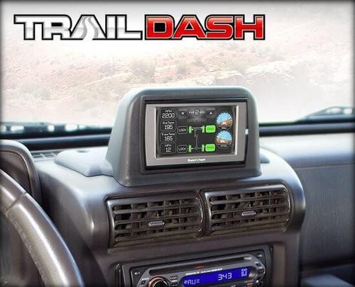38300 Superchips TrailDash Dash Pod 2003-2006 Jeep Wrangler