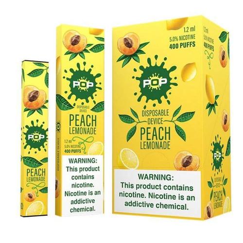 Pop Disposable - Peach Lemonade