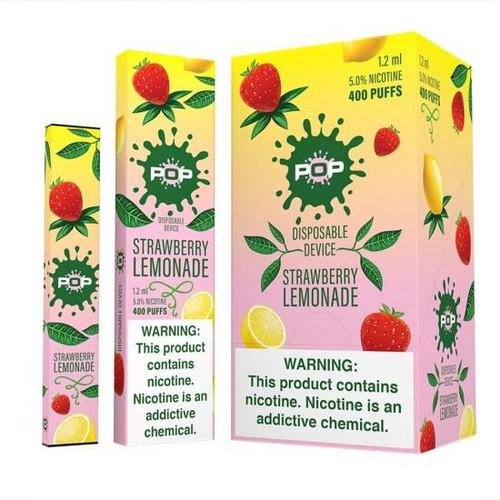 Pop Disposable - Strawberry Lemonade