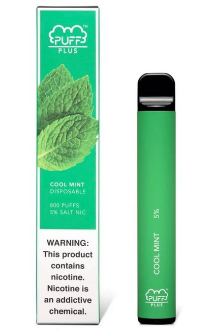 Puff Plus Cool Mint Disposable Device