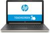 "HP Laptop 15-da0011ds - Intel Pentium, 8GB RAM, 128GB SSD, 15.6"" Touchscreen, Pale Gold"