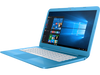"HP Stream Laptop 14-cb110nr - Intel Celeron, 4GB RAM, 32GB SSD, 14.0"" Display, Windows 10 S, Blue"