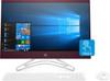 """HP All-in-One 24-f0052ds - AMD A9 - 3.10GHz, 8GB RAM, 1TB HD, 23.8"""" Touchscreen, Burgundy"""