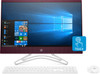 "HP All-in-One 24-f0048cy - 23.8"" Touchscreen, AMD A9 - 3.10GHz, 4GB RAM, 1TB HDD, Office 365, Burgundy"